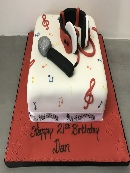 Other Sports, Transport & Music Cakes